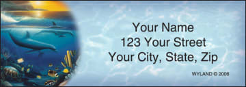 Ocean World by Wyland Address Labels – click to view product detail page