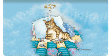 Gary Patterson Cats Checkbook Cover – click to view product detail page