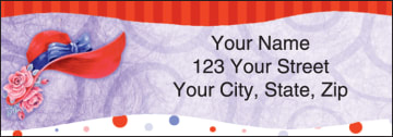 Red Hat Revue Address Labels – click to view product detail page