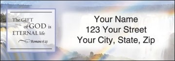 scripture address labels - click to preview