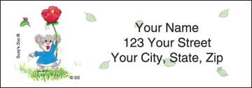 suzy 's zoo® address labels - click to preview