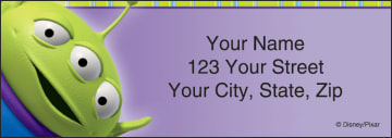 disney pixar toy story address labels - click to preview