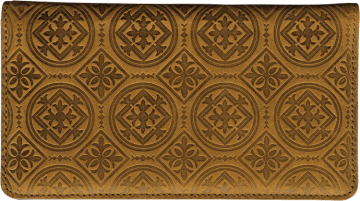 Tuscan Spice Checkbook Cover - click to view larger image