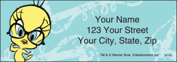 Totally Tweety Address Labels – click to view product detail page