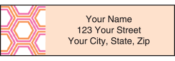 twisted address labels - click to preview