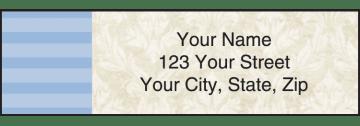 Vintage Address Labels - click to view larger image