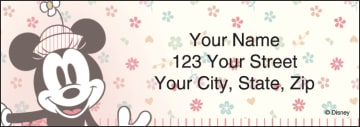Disney Vintage Minnie Address Labels – click to view product detail page