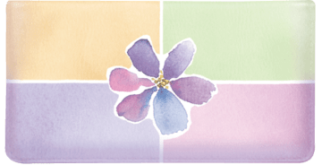 Watercolors Side Tear Checkbook Cover – click to view product detail page