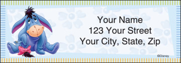 disney winnie the pooh address labels - click to preview