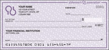 Alzheimer's Association Checks – click to view product detail page