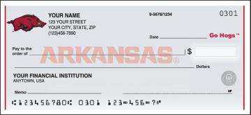 Arkansas® Logo Checks – click to view product detail page