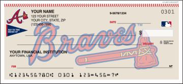 Atlanta Braves™ Checks – click to view product detail page