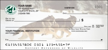 defenders of wildlife wolves checks - click to preview