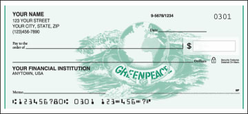Greenpeace Logo Checks – click to view product detail page