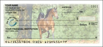 side tear - horse play checks - click to preview