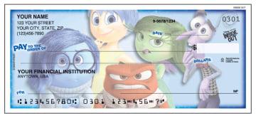 disney pixar inside out checks - click to preview