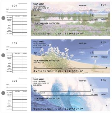 nature's majesty desk set checks - click to preview