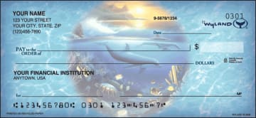 Ocean World by Wyland Checks – click to view product detail page
