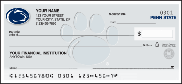 Penn State Logo Checks – click to view product detail page