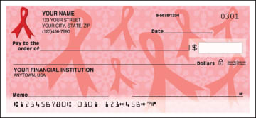 Red Ribbons of Support Checks – click to view product detail page