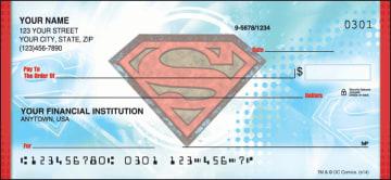 Superman Checks - click to view larger image