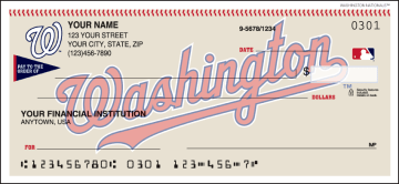 Washington Nationals™ Checks – click to view product detail page