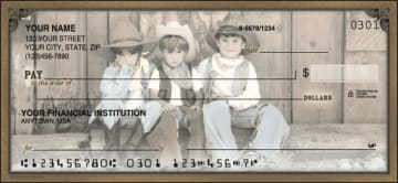 wild, wild west checks - click to preview