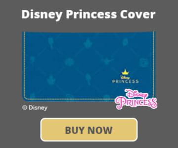 Disney Princess Checkbook Cover