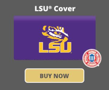 LSU Logo Checkbook Covers