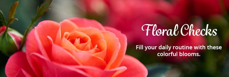 Floral Checks