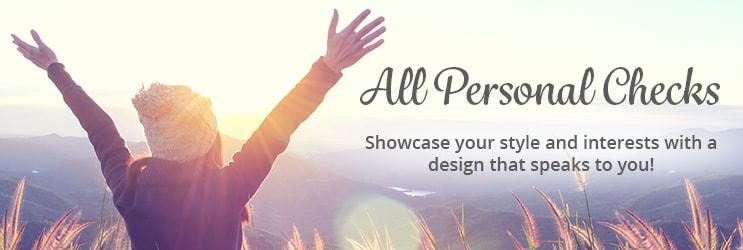 Personal Check Designs