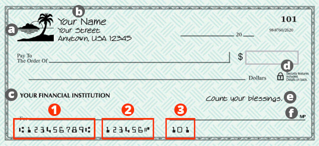 Anatomy Of a Check