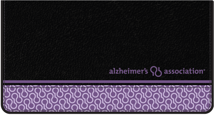 Alzheimer's Association Checkbook Covers