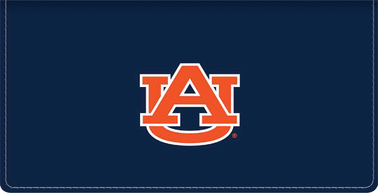 Auburn Logo Checkbook Covers