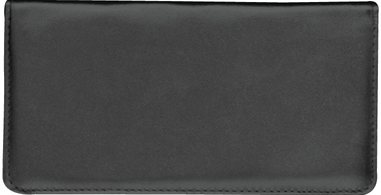 Black Checkbook Cover
