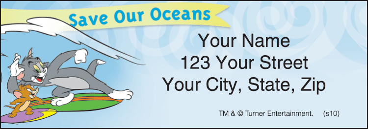 Celebrate Earth Address Labels - click to preview