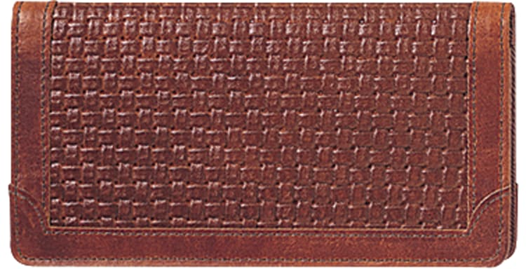 Enlarged view of Classic Accents Checkbook Cover