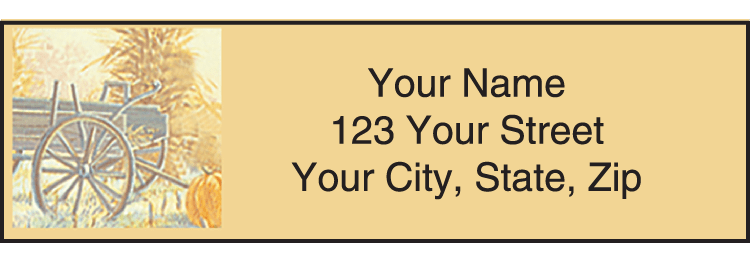 Country 'Scapes Address Labels - click to preview