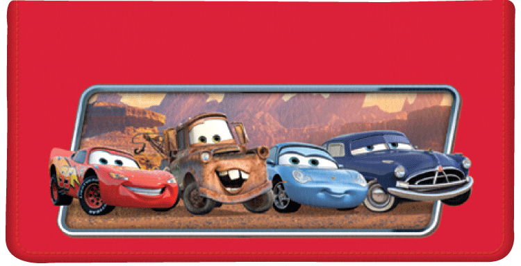 Disney Pixar Cars Checkbook Cover - click to view larger image