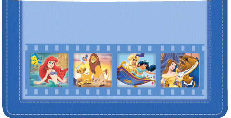 Disney Classics, Series II Checkbook Cover - click to view larger image