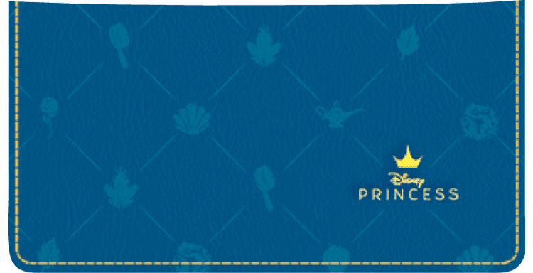 Disney Princess Checkbook Cover - click to view larger image