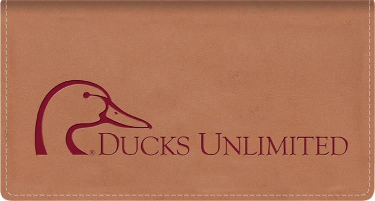 Ducks Unlimited Checkbook Cover