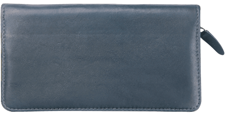 Elite Zippered Checkbook Cover