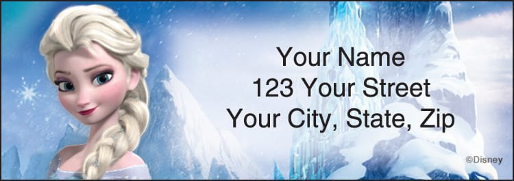 Disney's Frozen Address Address Labels - click to preview