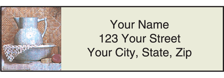 Heart & Home Address Labels - click to preview