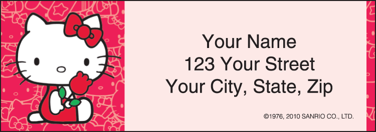Hello Kitty® Address Labels