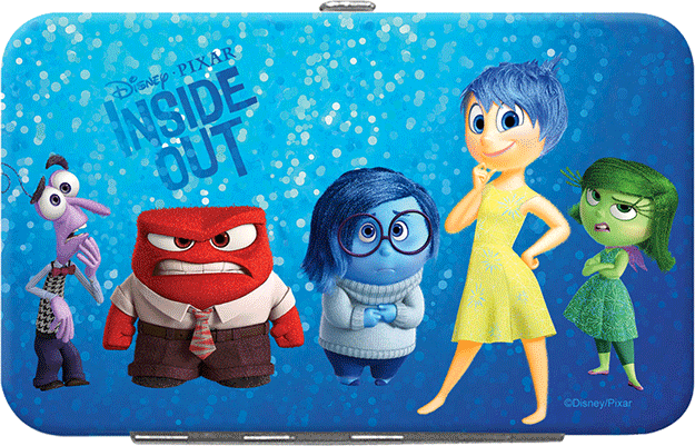 Disney Pixar Inside Out Credit Card/Id Holder - click to view larger image