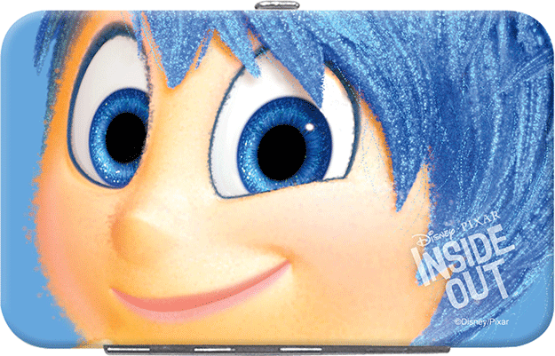 Enlarged view of Disney Pixar Inside Out Credit Card/ID Holder - Joy