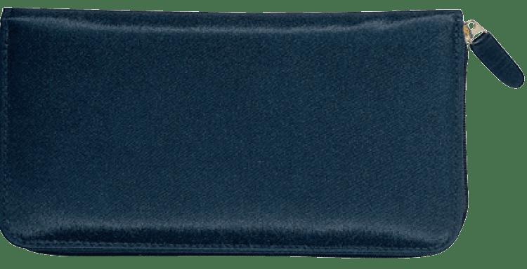 Elite Microfiber Zippered Checkbook Cover