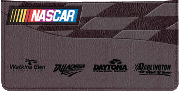 NASCAR Collections Checkbook Cover - click to view larger image